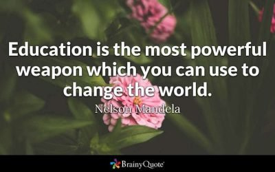 Education Is Where Change Really Happens
